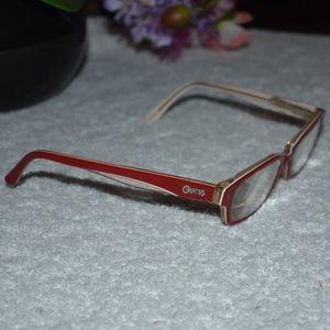 Vintage Guess Corvette Red RX Glasses